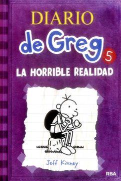 portada Diario de Greg 5: La Horrible Realidad
