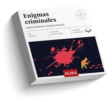 portada Enigmas Criminales Para Mentes Perspicaces