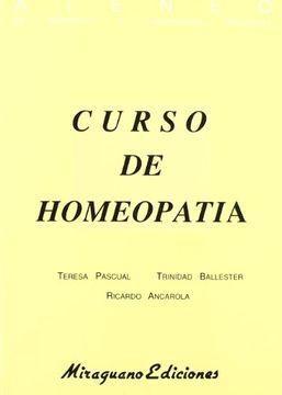 portada Curso de Homeopatía