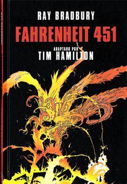 portada Fahrenheit 451 (Novela Gráfica)