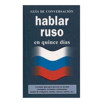portada Hablar Ruso en Quince Dias