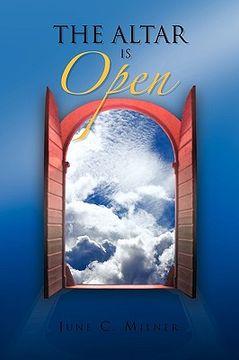 portada the altar is open