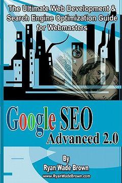 portada google seo advanced 2.0 black & white version