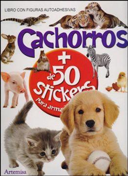 portada Cachorros + de 50 Stickers