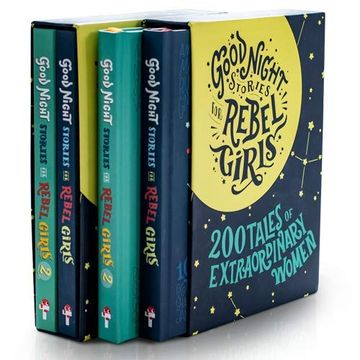 portada Good Night Stories for Rebel Girls - Gift box set (libro en Inglés)