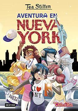 portada Tea Stilton 6. Aventura en Nueva York
