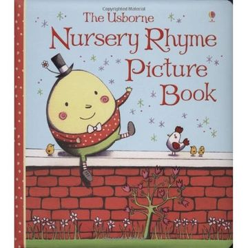 portada nursery rhyme picture book