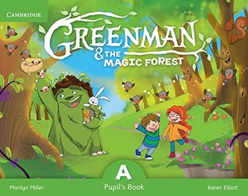 portada Greenman and the Magic Forest a Pupil's Book With Stickers and Pop-Outs (libro en Inglés)