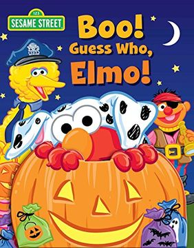 portada Sesame Street: Boo! Guess Who, Elmo! (Guess Who! Book)