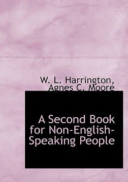 portada second book for non-english-speaking people (large print edition)