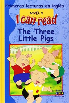 portada The Three Little Pigs (I can read)
