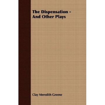 portada the dispensation - and other plays