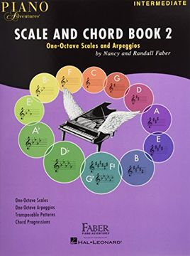 portada Piano Adventures Scale and Chord Book 2: One-Octave Scales and Chords (libro en inglés)