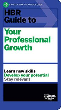 portada Hbr Guide to Your Professional Growth (libro en Inglés)