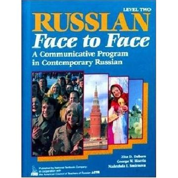 portada russian face to face level 2 student boo