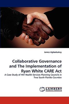portada collaborative governance and the implementation of ryan white care act