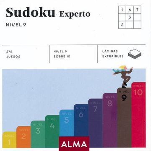 portada Sudoku Experto. Nivel 9 (Cuadrados de Diversión)
