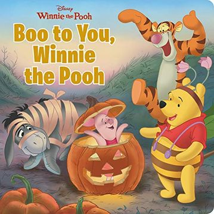 portada Boo to You, Winnie the Pooh (Disney Winnie the Pooh) (libro en Inglés)