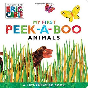 portada My First Peek-A-Boo Animals (The World of Eric Carle) (libro en Inglés)