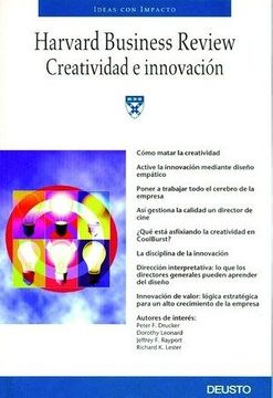 portada Creatividad e Innovación (Harvard Business Review)