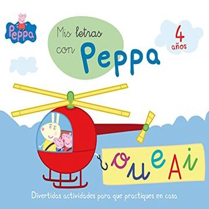portada Peppa: Mis Letras