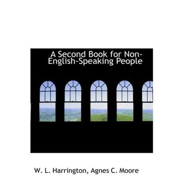 portada second book for non-english-speaking people