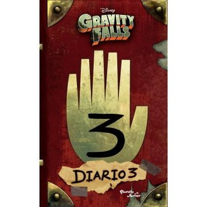 portada Gravity Falls. Diario 3