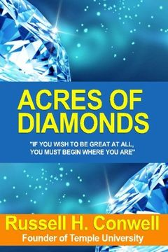 portada Acres Of Diamonds 1st Edition By Conwell, Russell (2002) Paperback