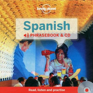 portada Lonely Planet Spanish Phrasebook and Audio cd (Lonely Planet Phrasebooks) (libro en inglés)